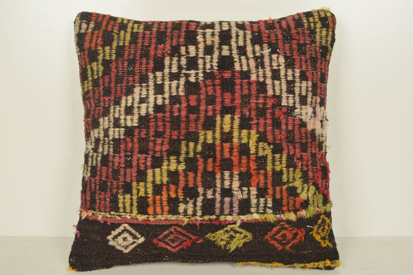 Kilim Rugs Cushion C01138 18x18 Cheap Victorian Navajo