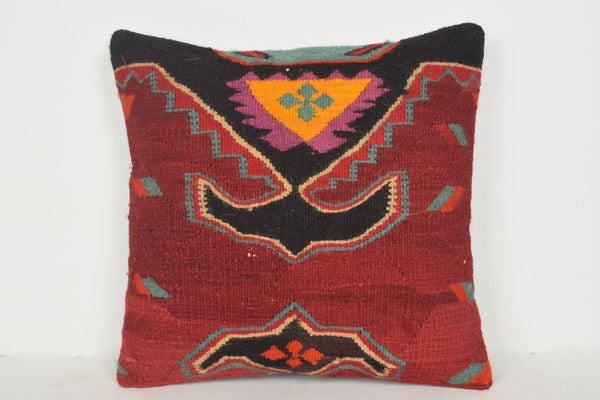 Round Kilim Cushion B00214 20x20 Decorating Livingroom Vintage