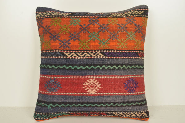 Kilim Pillows Cheap C01142 18x18 Handmade Bright Embroidery