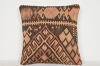 Kilim Pillow Covers D01044 16x16 Precious Regional Middle East