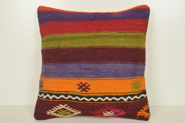 Turkish Tulip Pillows C01151 18x18 Bright Rich Eclectic