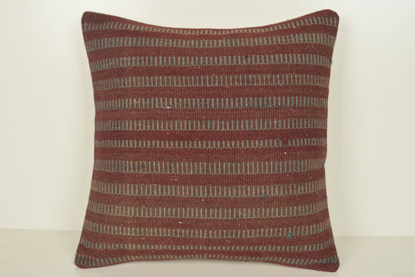 Kilim Pillow Covers for sale C00952 18x18 Livingroom Antique Geographical