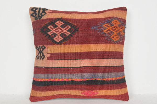 Rugrabbit Kilim Pillow D01057 16x16 Social Pretty Accents