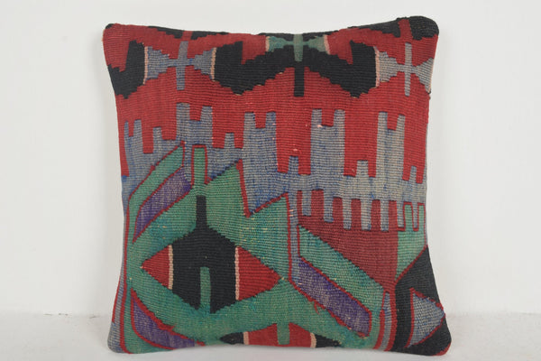 Polish Kilim Rugs Pillow D02359 Berber Bedding Retro Urban