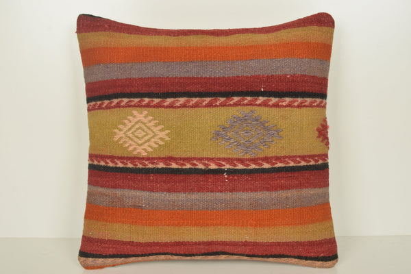Turkish Design Cushion Covers C01162 18x18 Pattern Nomad Primitive
