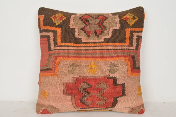 Turkish Carpet Pillow Covers C00678 18x18 Sham National Decorative