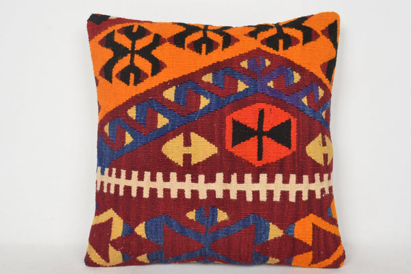 Anatolian Turkish Woolen Kilim Hippie Pillow Wholesale