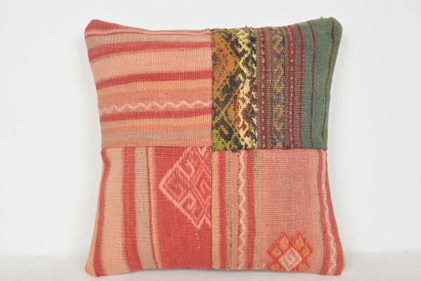 Moroccan Kilim Rugs for Sale Pillow D00718 16x16 Nautical Culture