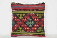Kilim Runner Rug Sale Pillow D00886 16x16 Tuscan Society Cottage