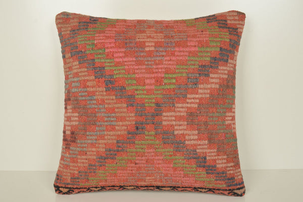 Turkish Kilim Rugs NZ Pillow B02190 20x20 Navajo Case Wall Covering