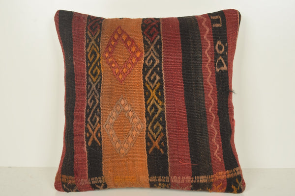 Turkish Tapestry Pillow C01190 18x18 Sham Room Wall covering