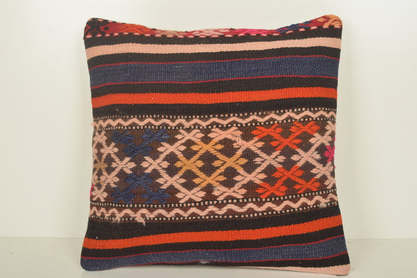 Kilim Print Cushion C01590 18x18 Wall Covering Decoration Cross-stitch