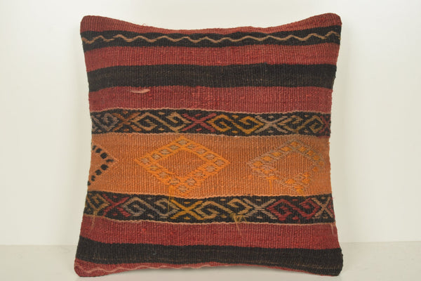 Kilim Pillow Covers Yellow C01194 18x18 Village Furniture Ethnic
