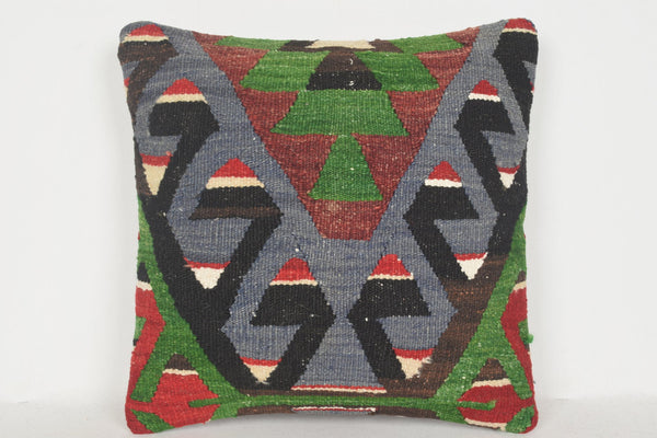 Kilim Rugs Dubai Pillow D01098 16x16 Eclectic Knitting Great