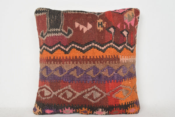 Turkish Rectangular Cushions C00302 18x18 Hellenistic Christmas Hand knot