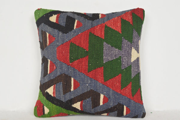 Kilim Rugs in Kitchen Pillows D01122 16x16 Floral Decor Body