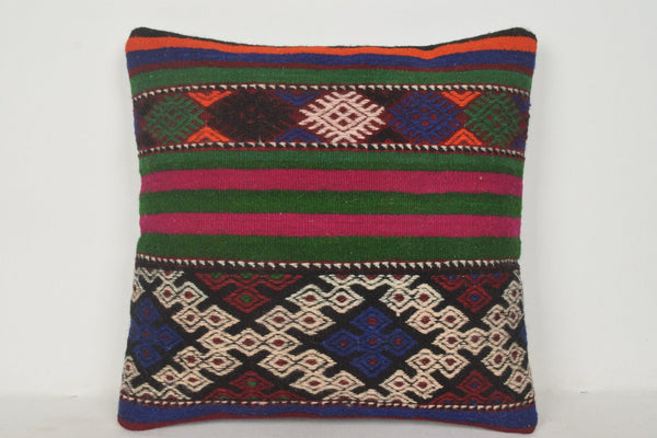 Turkish Rug Pillow B01522 20x20 Craft Eastern Bed