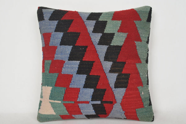 Kilim Bed Pillow C00123 18x18 Low-priced Eastern Natural