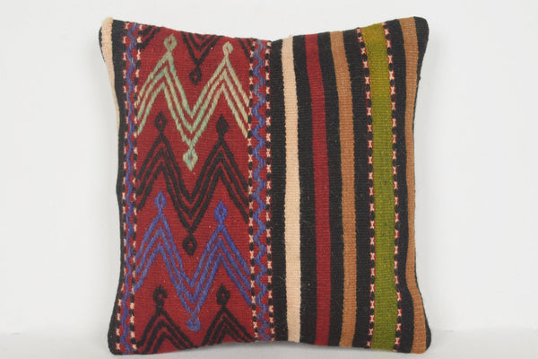 Turkish Ottoman Pillow D00625 16x16 Right Soft Tradition