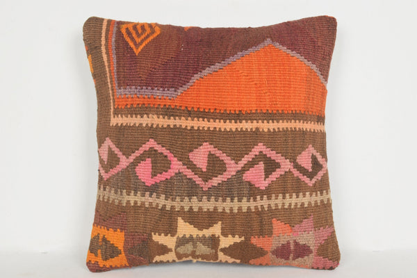 Turkish Rug Newcastle Pillow D01225 16x16 Bedding Adornment