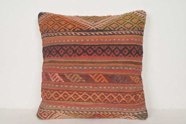 Rag Rug Pillow B01526 20x20 Middle East Western Kitchen