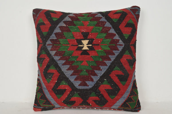 Kilim Rugs York Pillow B00226 20x20 Country Native Geometric