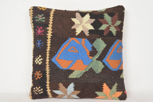 Kilim Cushion Covers C00328 18x18 Wall covering Rich Eastern
