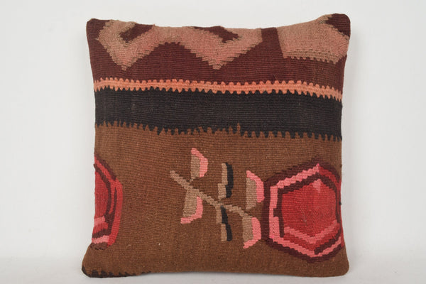 C00129 Turkish Kilim Pillows Wholesale, Furniture pillowcase 18x18, Decoration pillow case 18x18