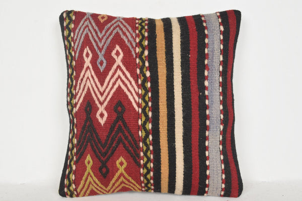 Turkish Velvet Cushions D00531 16x16 Artist Bohemian Knotted