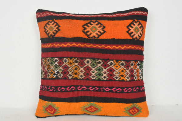 Gianna Kilim Rug Pillow B00632 20x20 Cross-stitch Special Couch