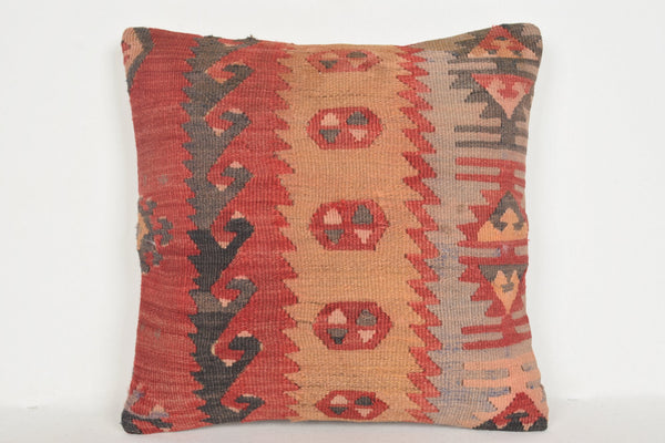 Kilim Rugs Byron Bay Pillow D01232 16x16 Satisfactory Decorating