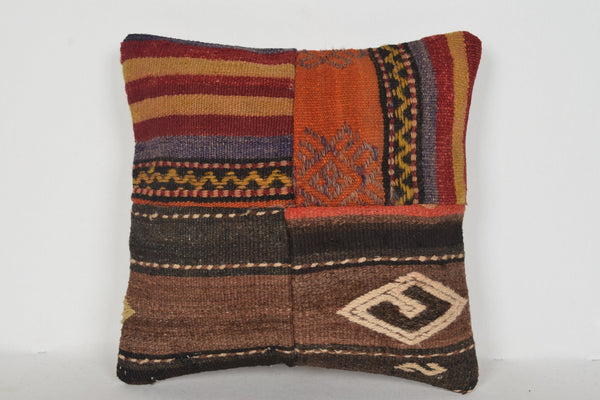 D00433 Turkish Pillow Covers 16x16, Patio pillow cover 16x16, Decoration cushions 16x16