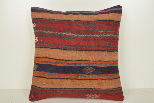 Kilim rug Pillow Covers C01343 18x18 Unique Design Decor