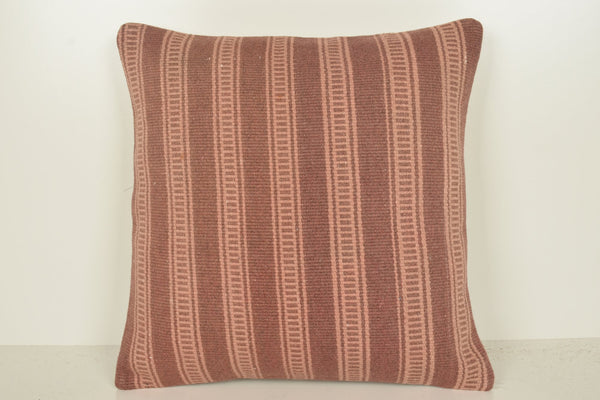 Turkish Style Throw Pillows C01353 18x18 Floor Organic Sham