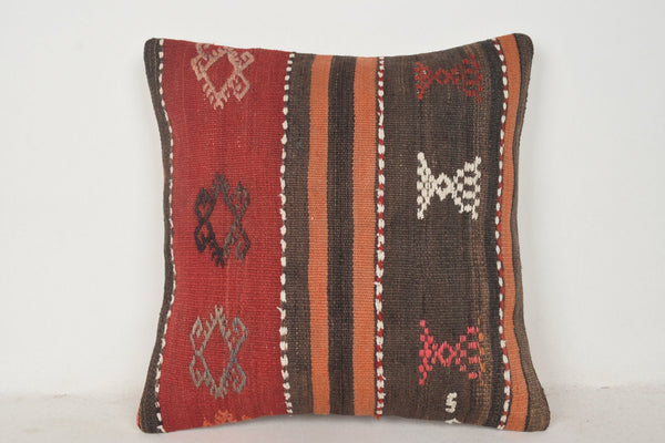 Green Kilim Pillow Covers C00736 18x18 Livingroom Southwestern Novelty