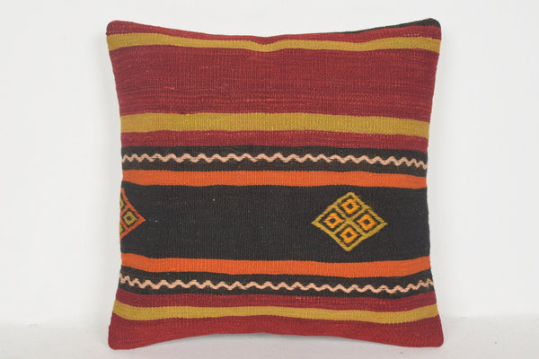 Kilim Pillow Covers Istanbul D00537 16x16 Reasonable Classic Old