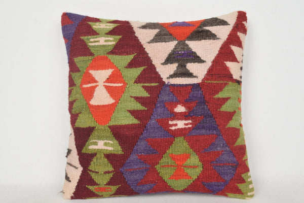 Kilim Pillow Toronto C00139 18x18 Bed Wall covering Fragment