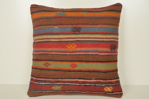 Kilim Bench Cushion B02039 20x20 Embroidery African Reasonable