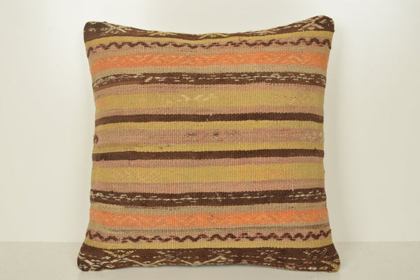 Copy of Kilim Bench Cushion B02040 20x20 Embroidery African