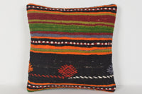 Kilim Cushion Covers Large D00340 16x16 Berber Knitting Casual