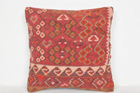 Turkish Rugs from Istanbul Pillow D01104 16x16 Geometric Artist