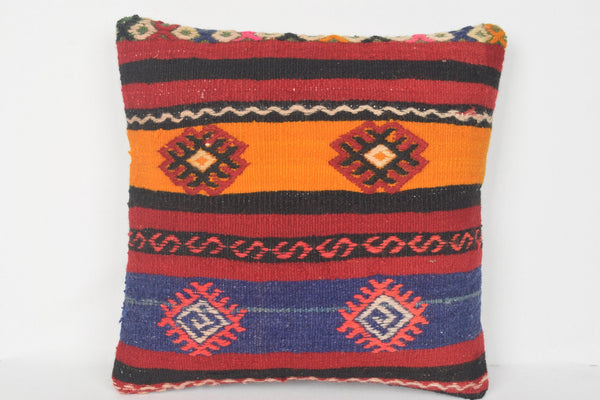 Handwoven Kilim Pillows 16x16 Turkish Wholesale Cheap Store