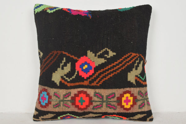 Kilim Rug Bellevue Pillow B00141 20x20 Embroidery Great Gift