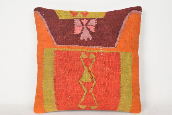 Blue Kilim Lumbar Pillow C00242 18x18 Design Economic Retail