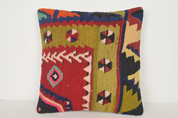 Giant Kilim Pillow C00542 18x18 Rich Lace Natural