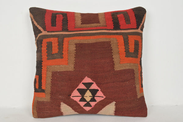 Iranian Kilim Rugs Pillow B00644 20x20 Tropical Low-priced Hand