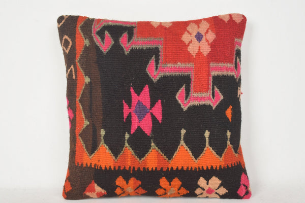 Turkish Lumbar Pillow C00244 18x18 Handmade European Private