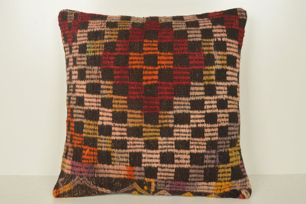 Turkish Kilim Rugs History Pillows B02045 20x20 Crochet Beautiful