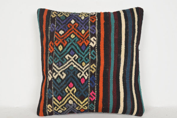 Kilim Print Pillow D00545 16x16 Normal Adorning Private