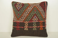 Kilim Cushions Ebay UK C00846 18x18 Ornament Solid Organic